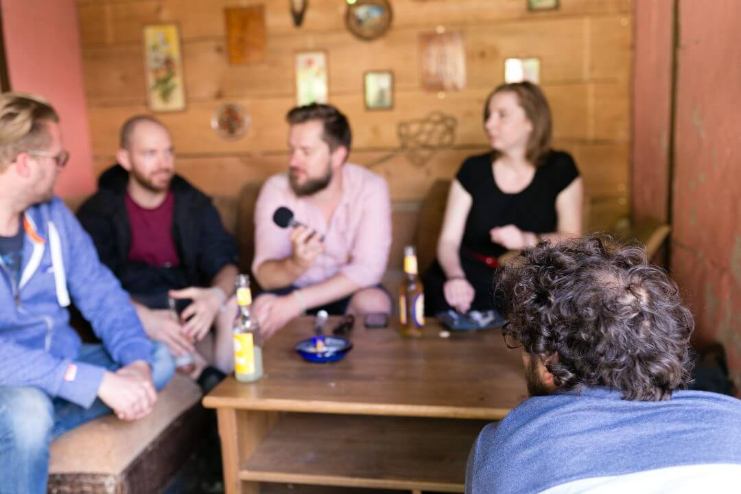 Garten Konzert Interview