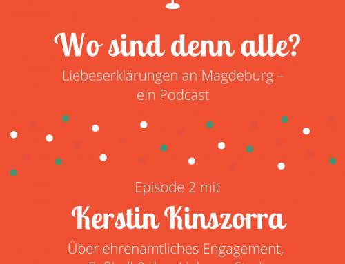 Folge 2: Kerstin Kinszorra über ehrenamtliches Engagement, Fußball und ihre Liebe zu Stadt