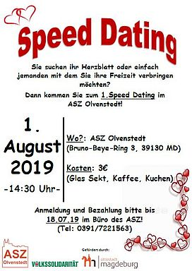 Magdeburg speed dating erfahrungsbericht dating café